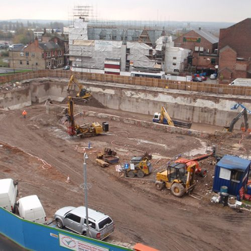 Wigan Swimming Pool City Centre Demolition