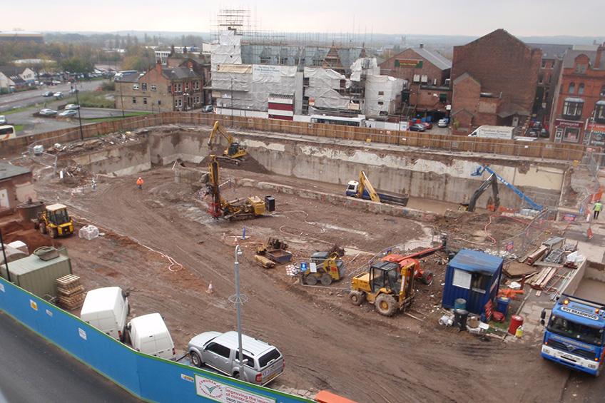 Wigan Swimming Pool City Centre Demolition