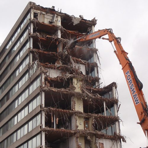 Chester House City Centre Demolition