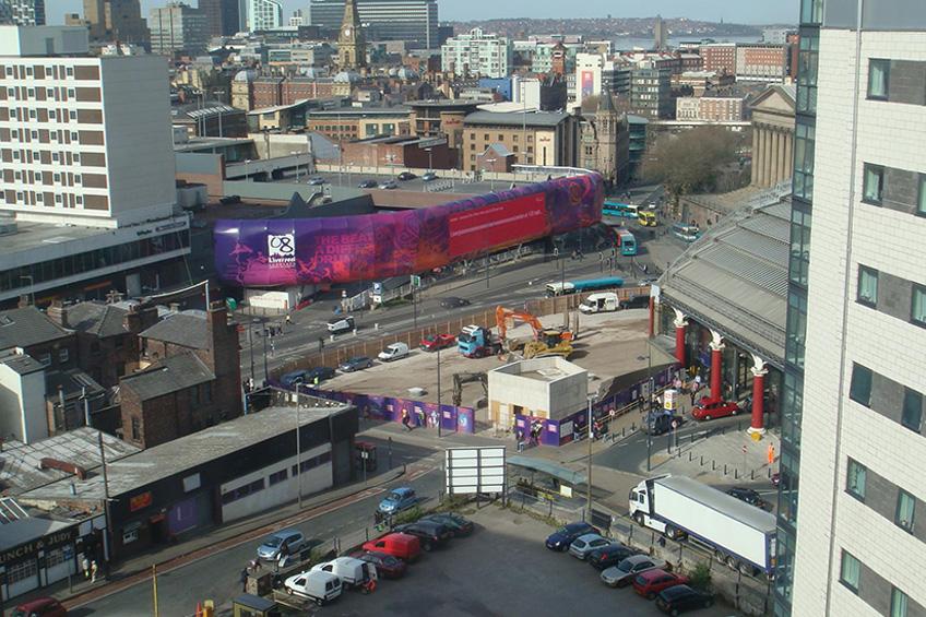 Concourse House, Liverpool, City Centre Demolition