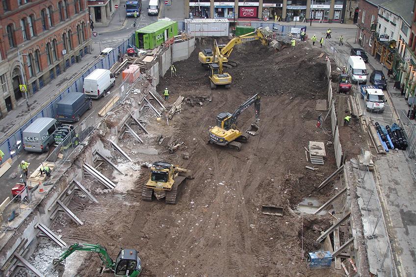 Cooper House City Centre Demolition