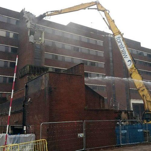 Washington House, Salford - City Centre Demolition