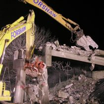 M6 Bridge Demolition