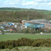 Joshua Wardle Factory Demolition. Leek