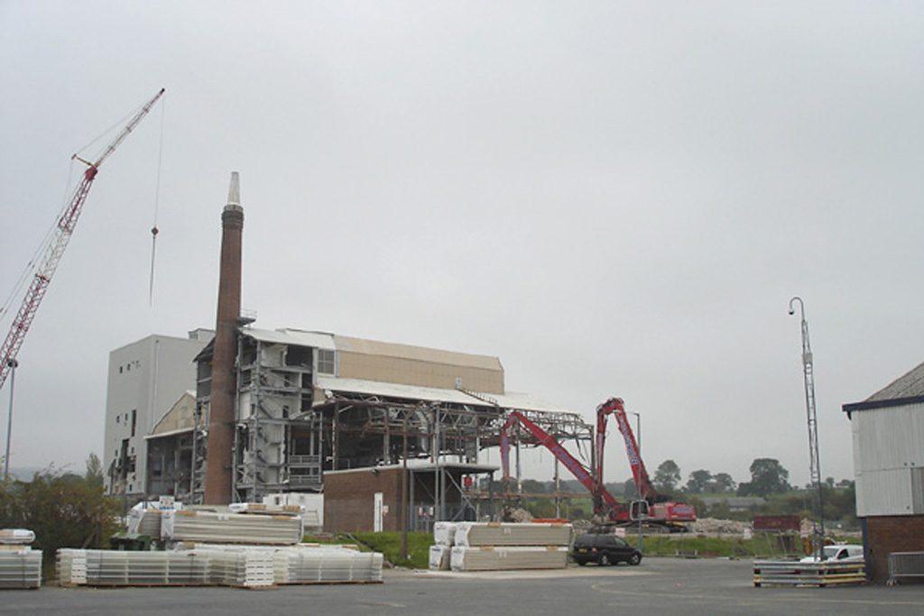 LG Phillips Demolition Burnley