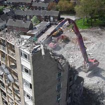 Olive Mountain Heights Demolitions, Liverpool