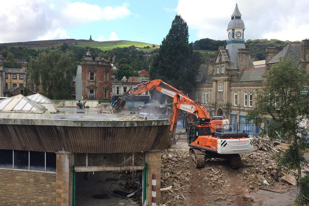 Darwen Market Demolition
