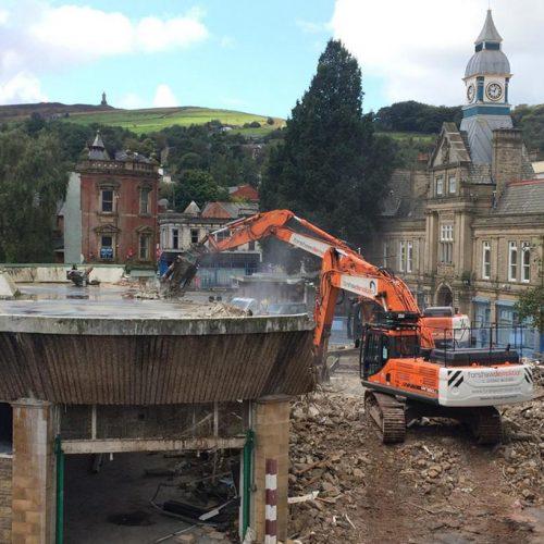Darwen Market Demolition